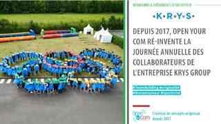 Organisation de la journée annuelle des collaborateurs de la société Krys Group