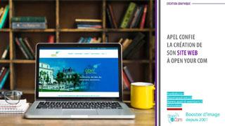 Open Your Com Agence web Publicité réalise le site web de l'APEL Saint-Erembert à Saint-Germain en Laye