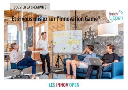 Open Your Com agence de communication lance les Innov'open avec sa consultante certifiée Innovation Game pour booster la créativité des équipes