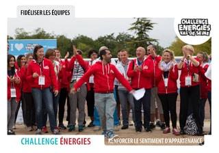 Open Your Com agence événementielle a créé le Challenge Energies dans les Yvelines, un véritable team building une olympiade inter-entreprises pour fédérer les équipes et renforcer le sentiment d'appartenance Un événement sportif de communication interne