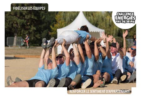 Open Your Com a créé en 2010 le challenge Energies team building inter-entreprises des Yvelines