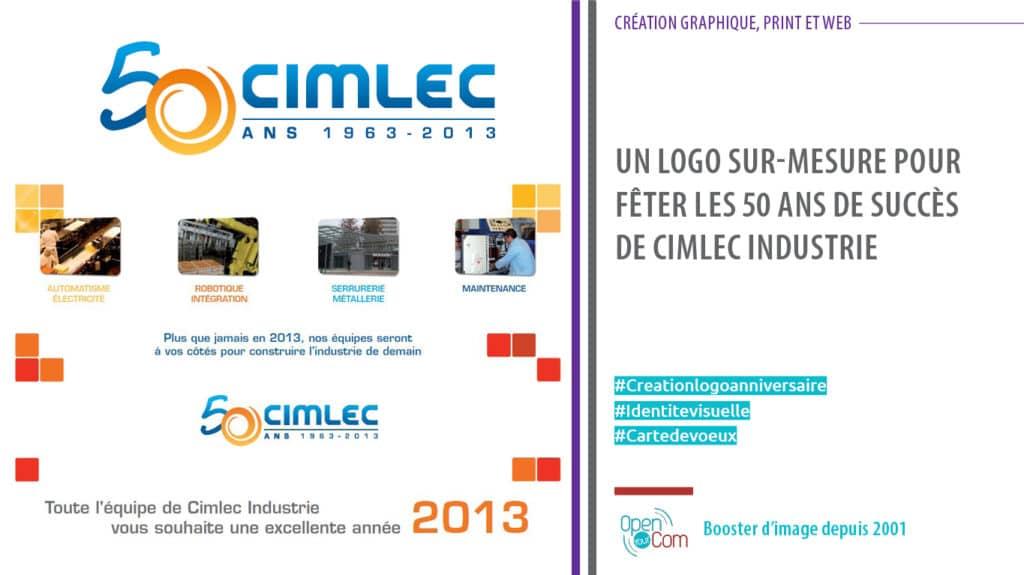 Open Your Com Agence web Publicité logo et charte graphique 50 ans